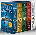 Game of Thrones: A Song of Ice and Fire 1-5 Boxed Set (5 Mass Market Paperbacks)