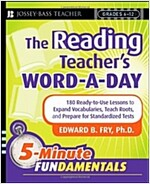 The Reading Teacher's Word-A-Day Grades 6-12: 180 Ready-To-Use Lessons to Expand Vocabulary, Teach Roots, and Prepare for Standardized Tests (Paperback)