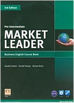 [중고] Market Leader 3rd Edition Pre-Intermediate Coursebook & DVD-Rom Pack (Package, 3 ed)