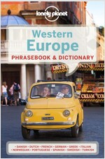 Lonely Planet Western Europe Phrasebook & Dictionary (Paperback, 5, Revised)