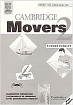 [중고] Cambridge Movers 2 Answer Booklet : Examination Papers from the University of Cambridge Local Examinations Syndicate (Paperback)