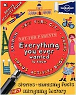 Not for Parents Mega Cities Box Set London, New York and Par (Hardcover)