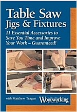 Table Saw Jigs & Fixtures (DVD)