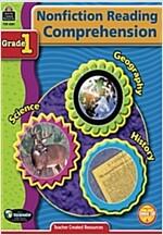 Nonfiction Reading Comprehension Grade 1 (Paperback)