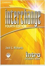 Interchange Intro Student's Book with Self-Study DVD-ROM (Package, 4 Revised edition)