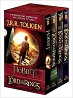The Hobbit and the Lord of the Rings Set: The Hobbit, the Fellowship of the Ring, the Two Towers, the Return of the King (Boxed Set)