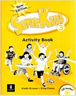 New Super Kids 3 (Activity Book + CD 1장)