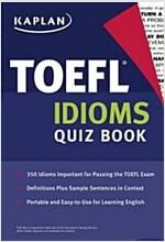TOEFL Idioms Quiz Book (Paperback)