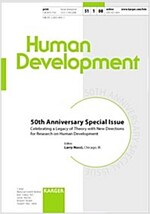 Human Development: 50th Anniversary Specail Issue: Celebrating a Legacy of Theory with New Directions for Research on Human Development                (Hardcover)