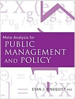 Meta-Analysis for Public Management and Policy (Paperback, New)