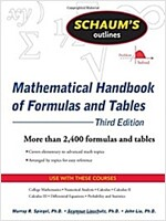 Schaum's Outlines Mathematical Handbook of Formulas and Tables (Paperback, 3rd)