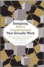 Designing Matrix Organizations That Actually Work : How IBM, Proctor & Gamble and Others Design for Success (Hardcover)