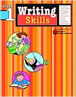 Writing Skills: Grade 1 (Flash Kids Harcourt Family Learning) (Paperback)
