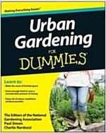 Urban Gardening for Dummies (Paperback)