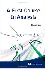 [중고] A First Course in Analysis (Hardcover)