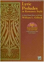 Lyric Preludes in Romantic Style (Paperback, Compact Disc)