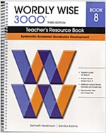 Wordly Wise 3000: Book 8 (Teacher Resource, 3rd Edition)