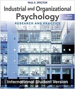 Industrial and Organizational Psychology (Paperback, 6th International Student Version)