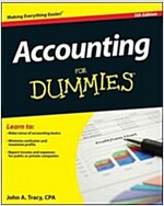 Accounting for Dummies (Paperback, 5)