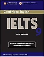 Cambridge IELTS 9 Student's Book with Answers : Authentic Examination Papers from Cambridge ESOL (Paperback)