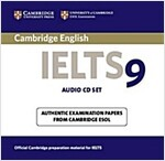 Cambridge IELTS 9 Audio CDs (2) : Authentic Examination Papers from Cambridge ESOL (CD-Audio)