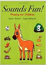 Sounds Fun! 3 : Long Vowels & Double Letter Consonants (Student Book + CD 1장)