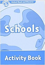 Oxford Read and Discover: Level 1: Schools Activity Book (Paperback)