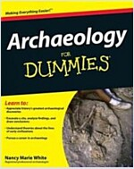 Archaeology for Dummies (Paperback)