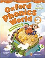 Oxford Phonics World: Level 2: Student Book with MultiROM (Package)
