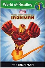 This Is Iron Man Level 1 Reader (Paperback)