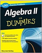 1001 Algebra II Practice Problems for Dummies (Paperback)