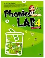 [중고] Phonics Lab Double Letters 4 (책 + CD 2장)
