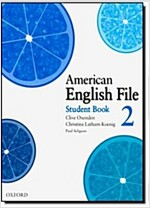 American English File 2 Student Book (Paperback)