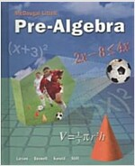 McDougal Littell Pre-Algebra: Student Edition 2008 (Hardcover)