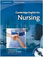 Cambridge English for Nursing Intermediate Plus Student's Book with Audio CDs (2) (Package)