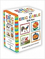 The Eric Carle Gift Set: The Tiny Seed; Pancakes, Pancakes!; A House for Hermit Crab; Rooster's Off to See the World (Board Books, Boxed Set)