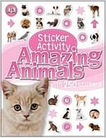 Sticker Activity  Amazing Animals (Paperback)