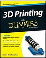 3D Printing for Dummies (Paperback)