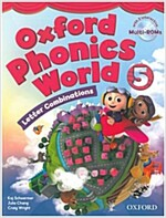 Oxford Phonics World: Level 5: Student Book with MultiROM (Package)