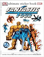 [중고] Fantastic Four Sticker Book (Paperback)