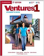 Ventures Level 1 Student's Book with Audio CD (Package, 2 Revised edition)