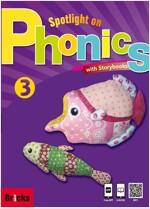 Spotlight on Phonics 3 (Studentbook 1권 + Storybook 3권 + CD 3장)