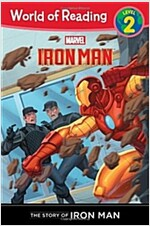 The Story of Iron Man (Level 2) (Paperback)
