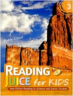 Reading Juice for Kids 3 : with Answerkey & CD (Paperback)