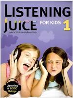 Listening Juice for Kids 1 (Paperback + Final Test )