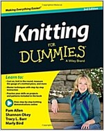 Knitting for Dummies (Paperback, 3)