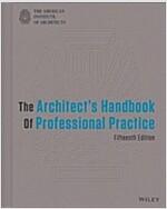 The Architect's Handbook of Professional Practice (Hardcover, 15)