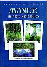 Monet: 16 Art Stickers (Paperback)