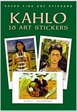 Kahlo: 16 Art Stickers (Paperback)