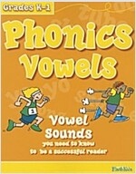 Phonics Vowels: Vowel Sounds You Need to Know to Be a Successful Reader (Paperback)